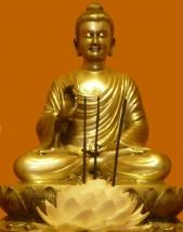 Buda Altar Laranja