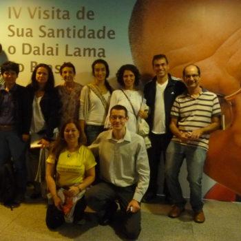 Dalai Lama no Brasil